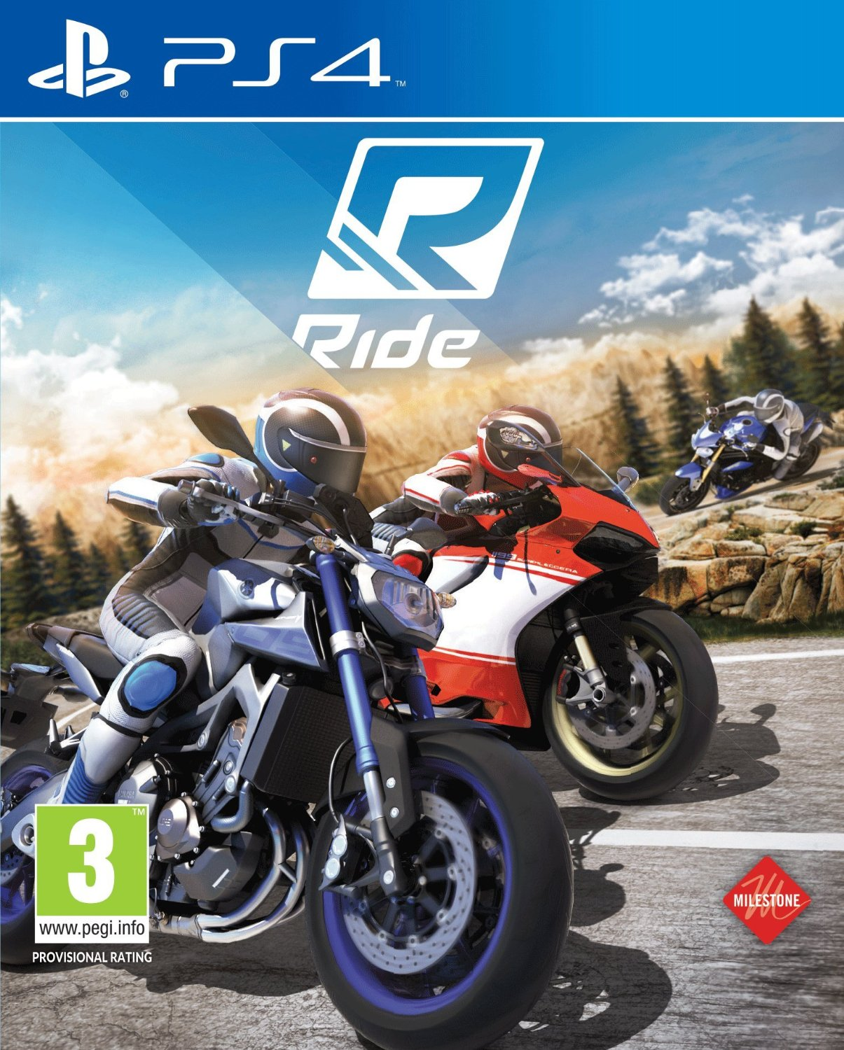 Ride (2015) - PS4 cover