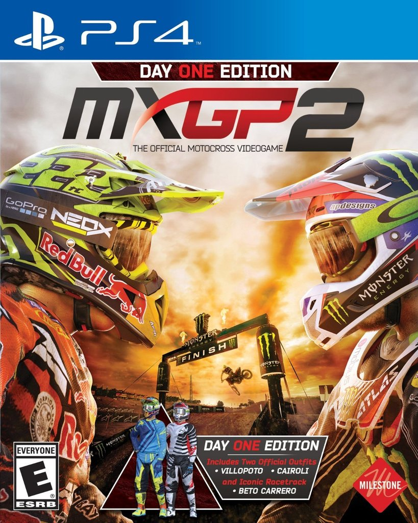 MXGP 2 (2016) - PS4 cover