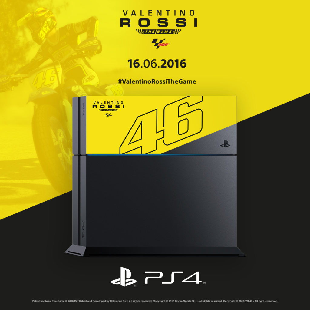 VR46 the Game (2016) - PS4 Limited Edition